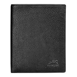San Diego Men's Trifold Wing Wallet Color: Cognac