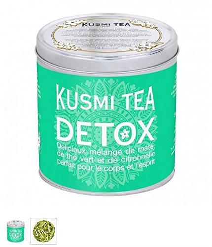 Kusmi Tea Paris - Premium Luxury Teas - DETOX (Green tin) - 8.8oz / 250gr Tin