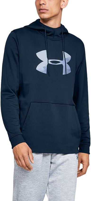 Blue New Under Armour UA Men/'s Storm Fleece Graphic Pullover Hoodie