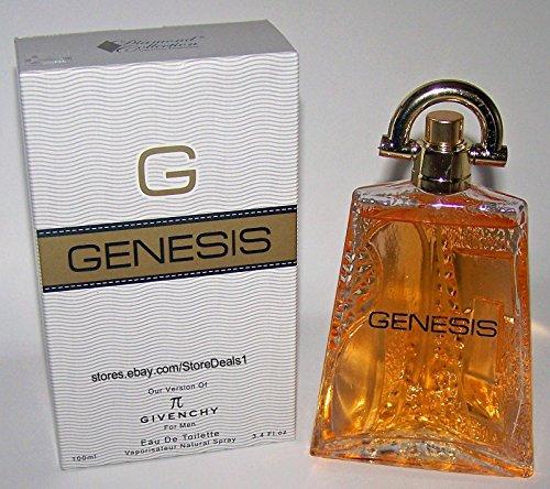 G GENESIS Men Perfume EDT Fragrance Spray 3.4 oz 100 ml by Diamond Collection