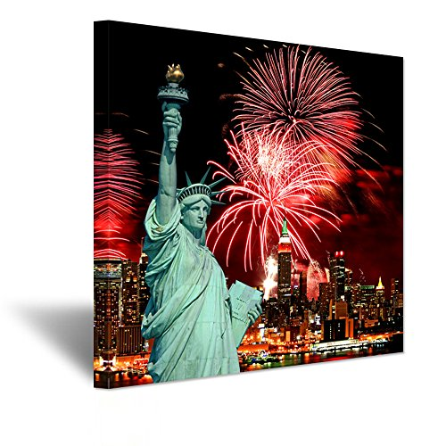 Hello Artwork Canvas Prints Wall Art The Statue of Liberty