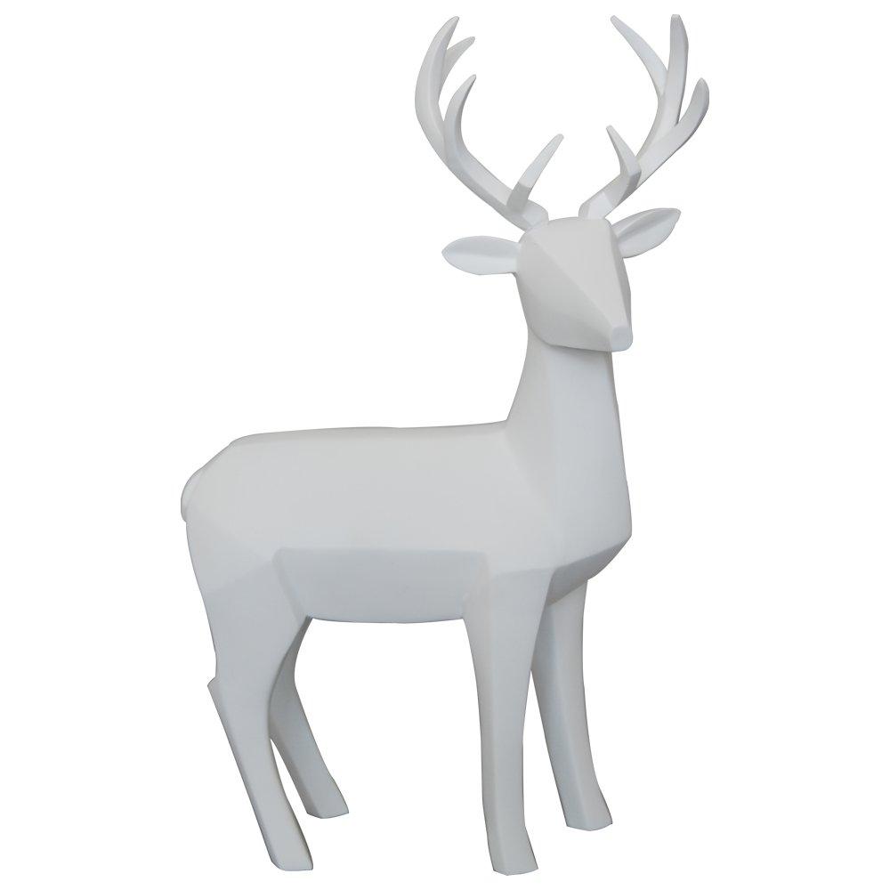 White Deer Figurine