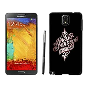 Newest Samsung Galaxy Note 3 Case ,harley davidson 1 Black Samsung Galaxy Note 3 Screen Case Unique And Durable Custom Designed Cover Case