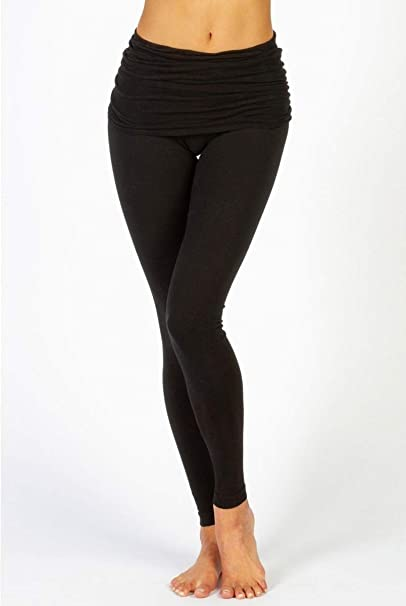 Hard Tail Overlay Skinny Legging -Black-XS Womens Active ...