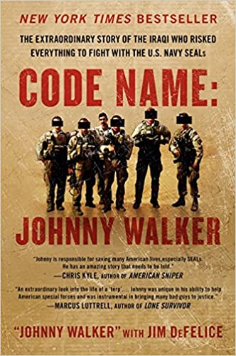 Amazon code name johnny walker the extraordinary story of the amazon code name johnny walker the extraordinary story of the iraqi who risked everything to fight with the us navy seals 9780062267566 johnny fandeluxe Gallery