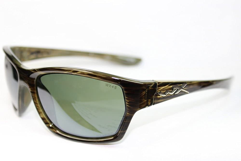 f74071e0828f Wiley X Moxy Polarized Green Plat Flash/Olive Stripe Frame 61mm SSMOX04:  Amazon.ca: Clothing & Accessories