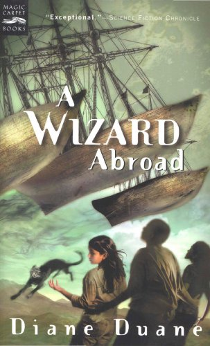 book cover of A Wizard Abroad