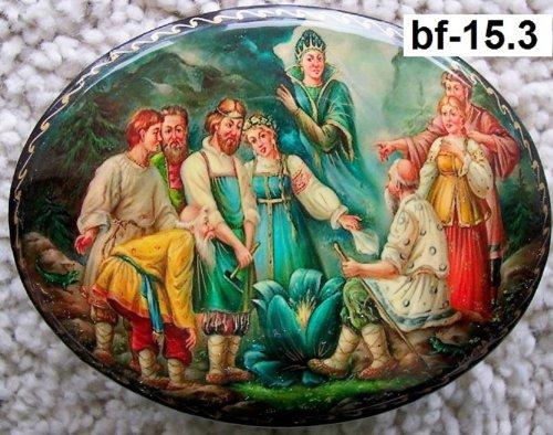 Russian Lacquer Miniatures (Russian Lacquer box Fedoskino