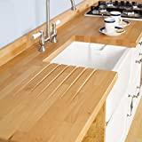 Solid Prime Beech Timber Block Worktops 2000mm x 720mm x 40mm by WORKTOPEXPRESS