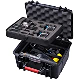 Smatree GA700-3 Waterproof Hard Case for Gopro Hero 6/5/4/3+/3/GoPro Hero 2018 (Camera and Accessories NOT included)