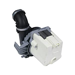 Edgewater Parts W10510667 Dishwasher Pump Motor Compatible with Kenmore and Whirlpool