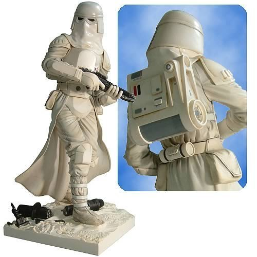 Pre Painted Vinyl Model - Star Wars Snowtrooper Pre Painted Kotobukiya Soft Vinyl Model Kit Figure Statue 13 437