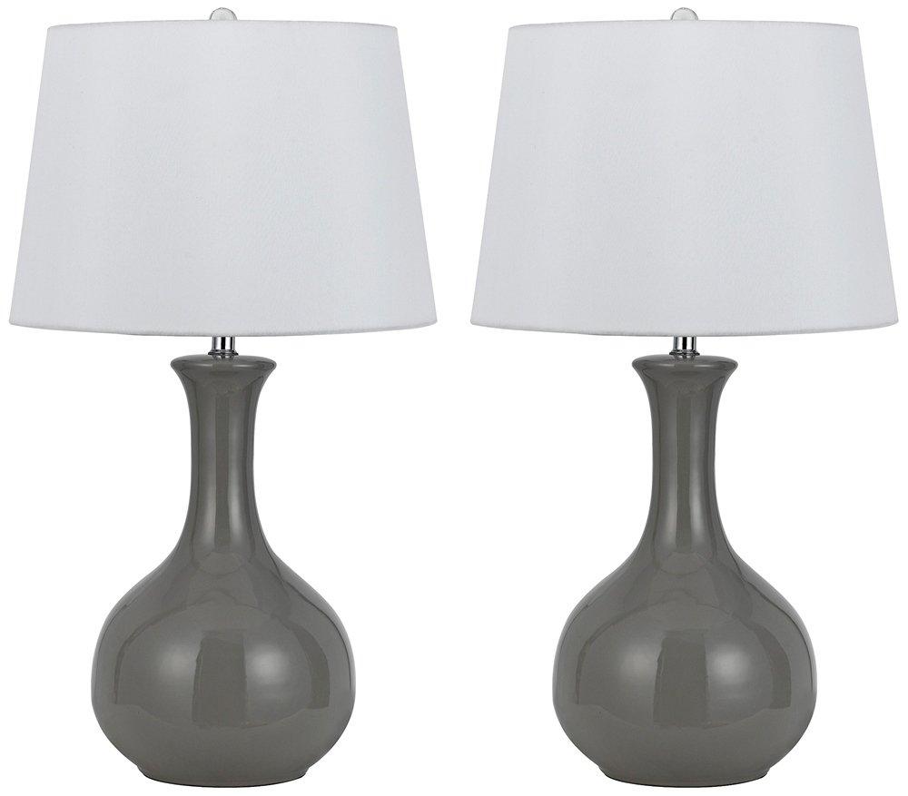 Almeria - Lámpara de Mesa (cerámica, 150 W): Amazon.es: Hogar