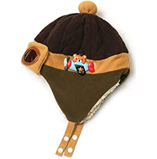 076c026985e Stonges Unisex Baby Winter Warm Cap Hat Infant Toddler Beanie Earflap Hats  Winter Pilot Aviator Warm