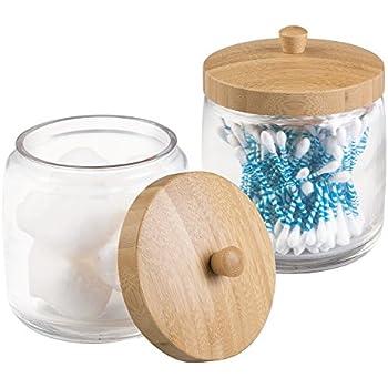 Amazon Com Kahler Mellibi Porcelain Bathroom Storage Canister