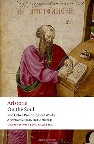 Book cover for On the Soul