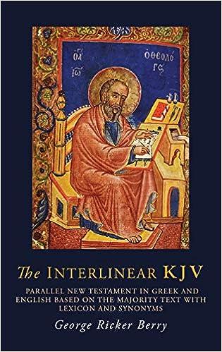 The Interlinear KJV: Parallel