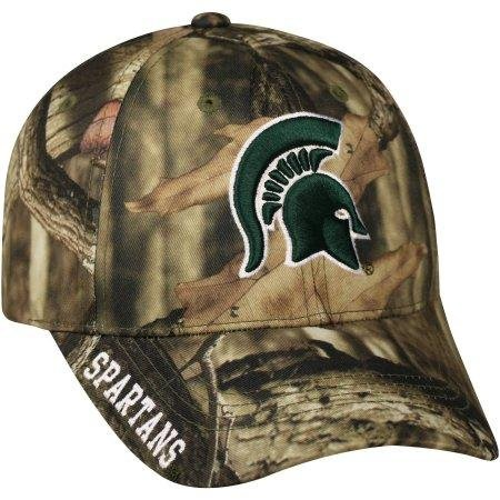 official photos f4bf8 7be65 Amazon.com   NCAA Men s Michigan State Spartans Mossy Hat   Cap   Sports    Outdoors