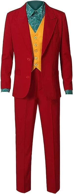 sailor thunder Joker Bufón Púrpura Rojo Traje Chaqueta Verde Peluca Heath Ledger Halloween Cosplay Disfraz Adulto Niño Equipar Disfraces Corbata ...