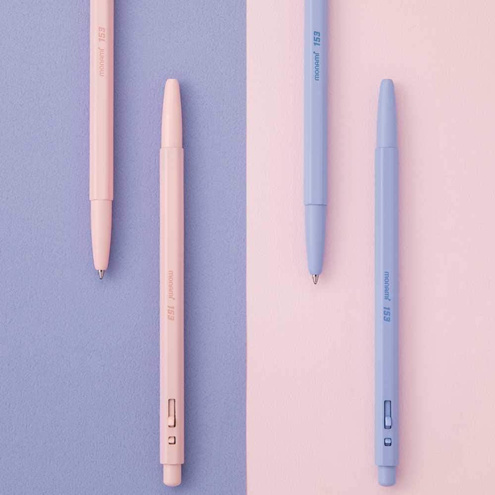 Blue Ballpoint Pen Vintage Almond Flower Blossom Office Gift #16328