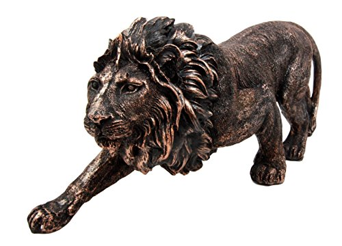 Atlantic Collectibles Apex King of The Jungle Aslan Lion Decorative Figurine 12.5