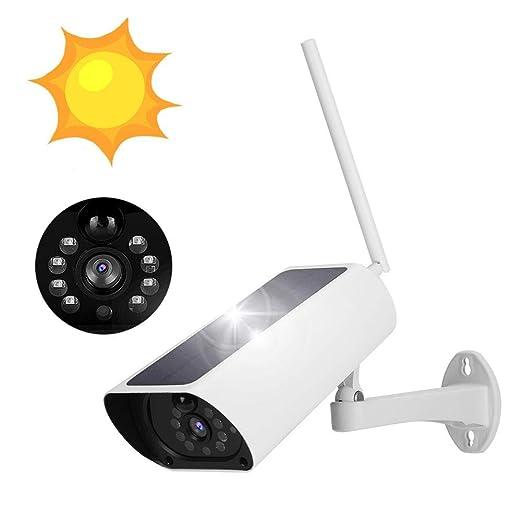 1080P 4G WIFI Cámara IP con energía solar, Cámara de bala de ...