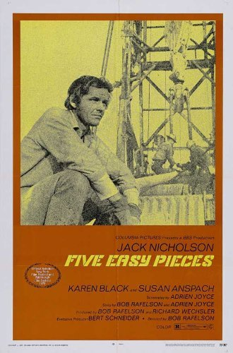 Five Easy Pieces POSTER Movie (27 x 40 Inches - 69cm x 102cm) (1970)