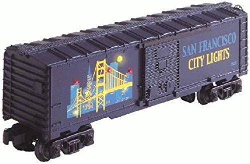 LIONEL TRAINS SAN FRANCISCO CITY LIGHTS BOXCAR - Francisco Factory Outlets San