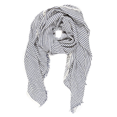 Womens Checker Scarves Pashmina Cashmere