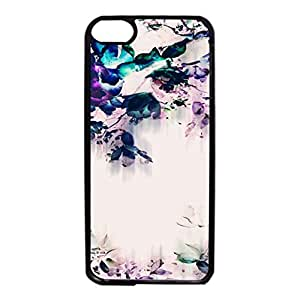 Ipod Touch 6th Generation Case,Colourful Flower Premium Quality Hard Delicate Case Cover for Ipod Touch 6th Generation