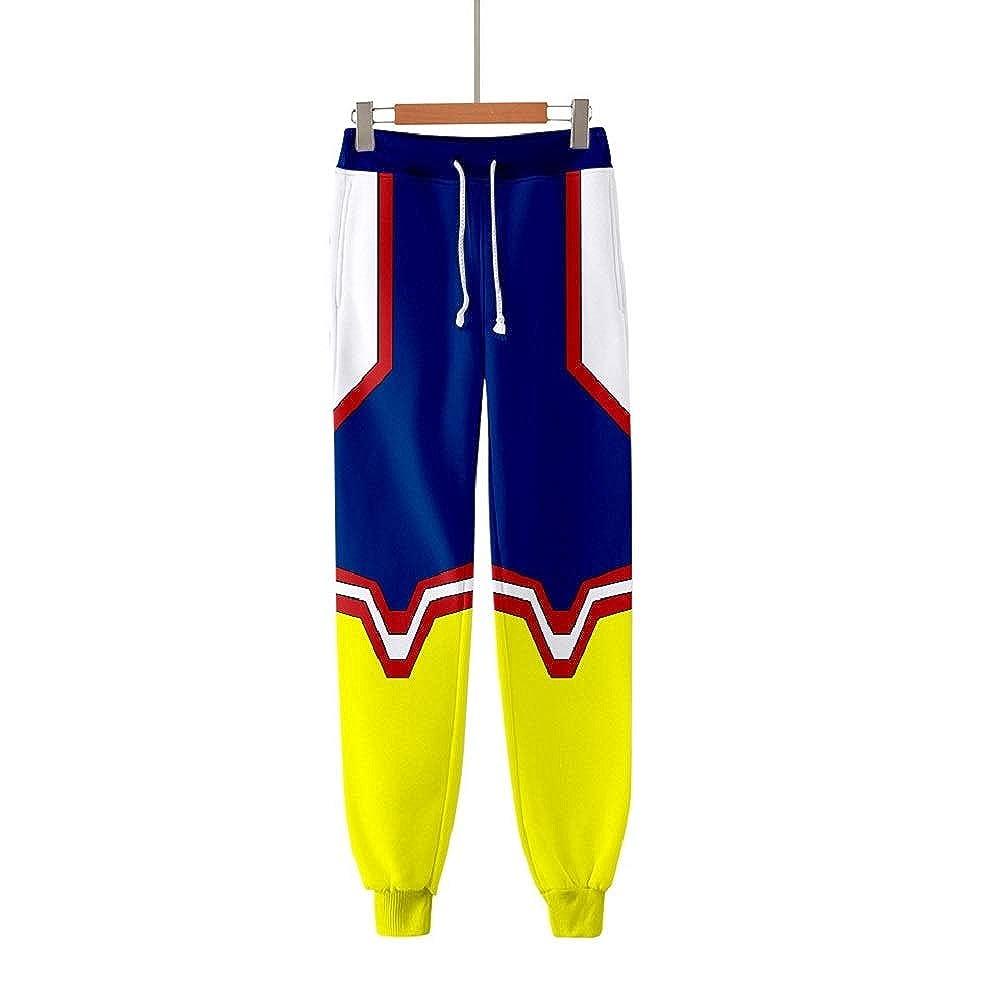 My Hero Academia Pantalones Izuku All Might Cosplay Gimnasio ...