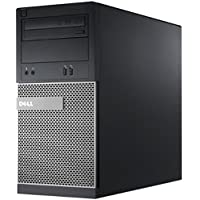 Dell 990 4K Gaming Tower OptiPlex Computer, GTX 1050 2GB 3 Monitor Support Video Card, Quad Core i7 2600 3.4GHz, 16GB Ram, 500GB SSD + 1TB HDD, WIFI, Windows 10 Pro(Certified Refurbished)