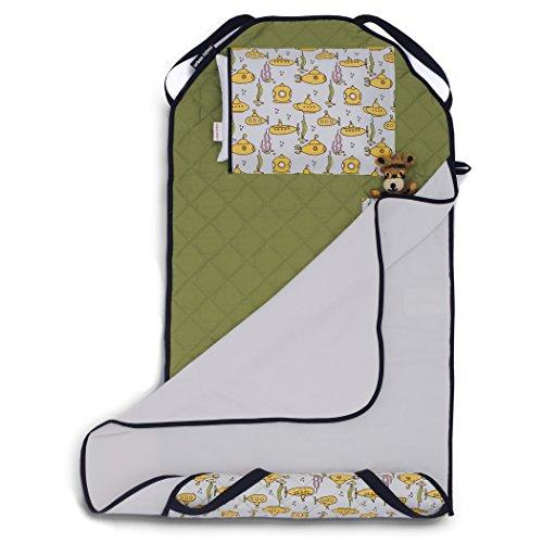 Urban Infant TOT Cot All-in-One Preschool/Daycare Toddler Nap Mat - Submarines