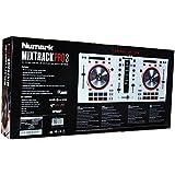 Numark Mixtrack Pro 3 All-In-One DJ Controller for Serato DJ (White)