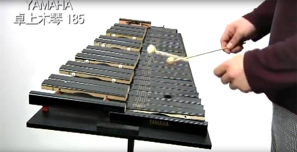 YAMAHA table xylophone No.185