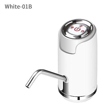 kbxstart Bomba de Agua Potable eléctrica Universal Galón Dispensador de Agua embotellada Interruptor de Bombeo cuantitativo 600 ML: Amazon.es: Hogar