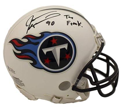 Jevon Kearse Autographed Signed Tennessee Titans Mini Helmet The Freak BAS 2e14ac377