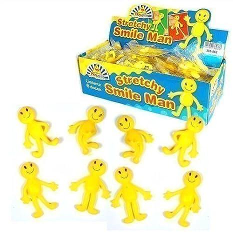 Hombre Amarillo Elástico Feliz x 6 Para Niños y Niños Para ...