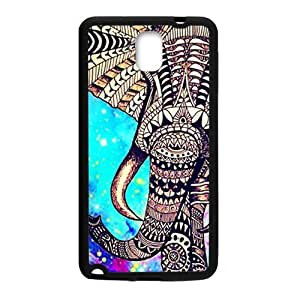Happy Beautiful flowers elephant Cell Phone Case for Samsung Galaxy Note3