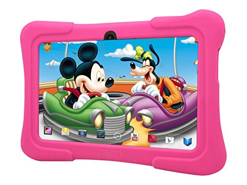 Dragon Touch 7″ Android Kids Tablet – Pink Silicone Case