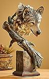 The Survivor - Wolf Sculpture by Stephen Herrero