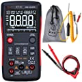 Bside EBTN LCD Digital Multimeter 3-Line Display True RMS Auto-Ranging DMM Temperature Capacitance Battery Tester with Analog Bar