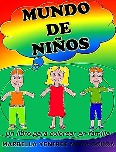 Amazoncom Mundo De Niños Un Libro Para Colorear En Familia Mundo