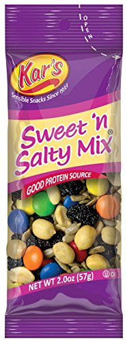 Kar's Nuts Sweet 'n Salty Mix, 2-Ounce Bags (Pack of 72)