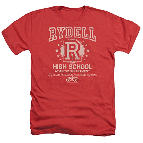 2Bhip Grease Movie Rydell High Adult Heather T-Shirt Tee -