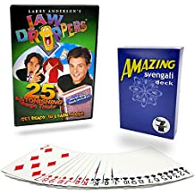 Magic Makers JAW DROPPERS 25 Magic Tricks Kit - Starter Pack