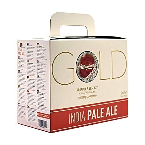 Kit Cerveza India Pale Ale - Muntons Gold: Amazon.es: Alimentación y bebidas