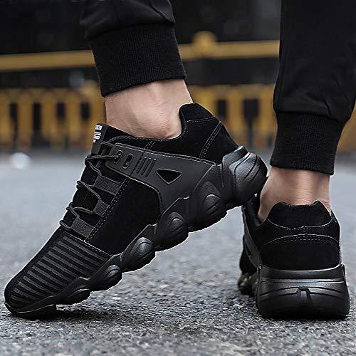 Toamen CáLidos Negro Moda Zapatos De Masculinos Hombres Comodos Zapatos Casuales Casuales para rxqrw7R60