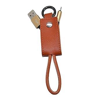 Plegable USB Cable de 20 cm 2,1 A portátil llavero USB Cable de ...