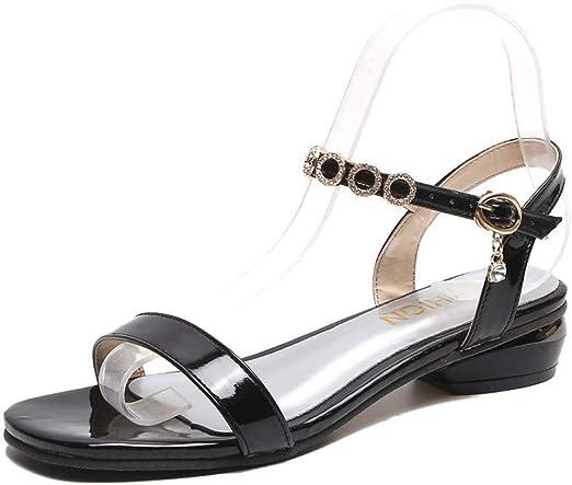 Darringls Sandalias para Mujer,Mujer Zapatos de Fondo Plano ...